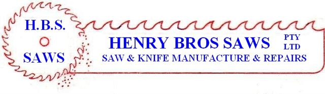 Henry Brothers Knife Saw Sharpening NSW Australia